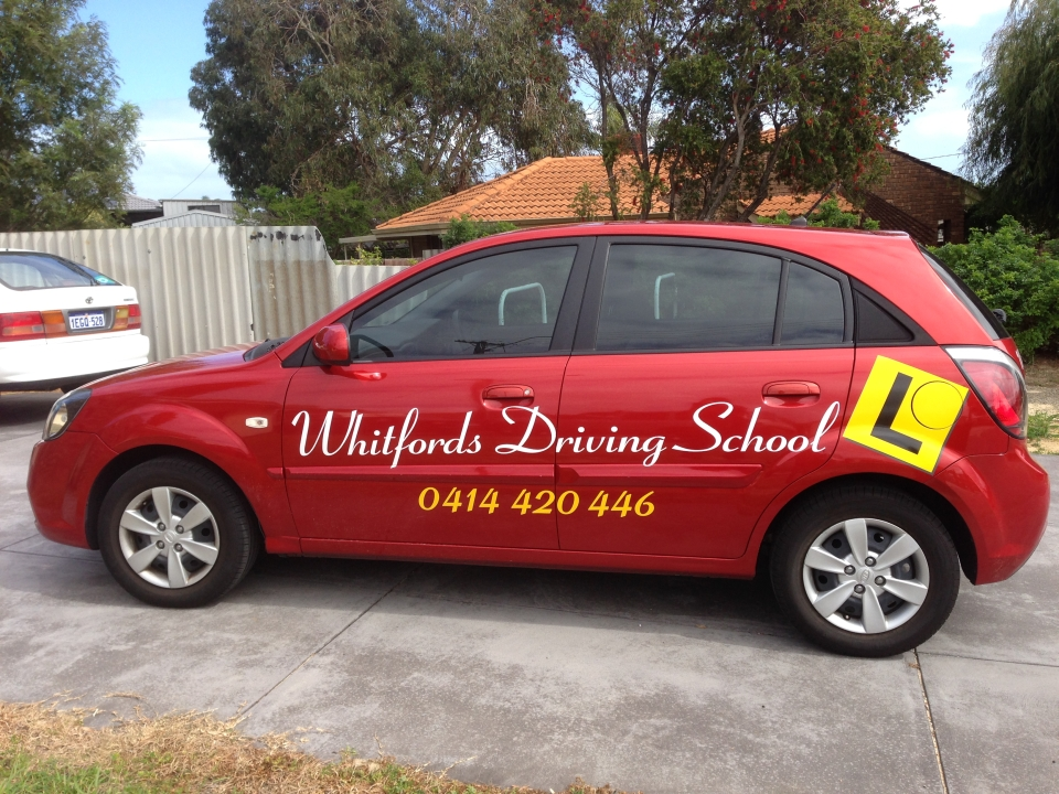 whitfords driving school vehicle 1